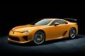 Toyota выпускает желтый Lexus LFA
