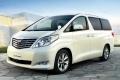 Люксовый минивэн Toyota Alphard приедет в Россию