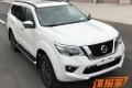 Новый рамный внедорожник Nissan: крупные фото
