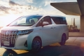 Toyota обновила минивэн Alphard
