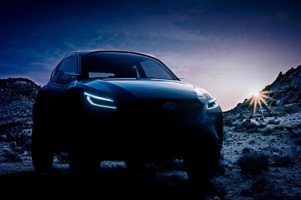 Subaru показала тизер кроссовера Viziv Adrenaline